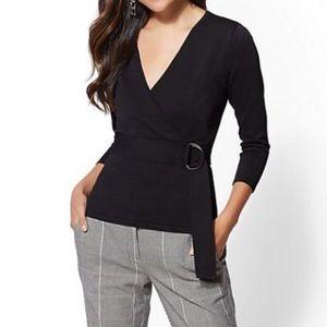 NY&Co black sweater. NWT